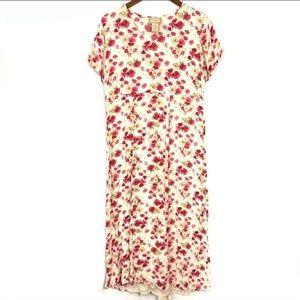 April Cornell VTG Pink Floral Dress - to bundle